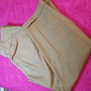 Perry Ellis America pleated cuffed dress pants size 38 x 32